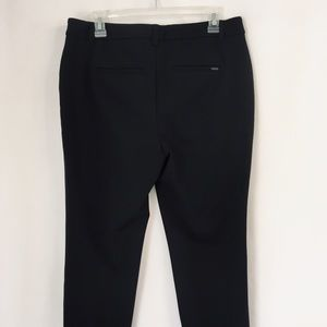 Woman's Slim Ankle Casual Work Pants Black Size 10